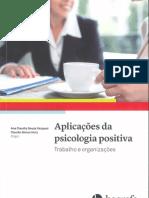 A Saúde Do Trabalhador Na Perspectiva Da Psicologia Positiva