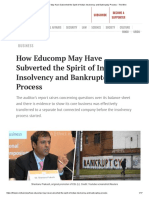 Case Study on Educomp
