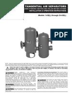 Iom-Amtrol Air Separator Tank
