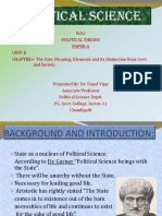 State Meaning and Elements