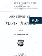 Mill John Stuart Vlastni Zivotopis