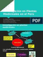 Investigación en Plantas Medicinales en El Perú (1)