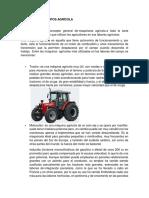 Maquinaria y Equipos Agrícola