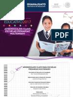 Aprendizajes Clave Escuelas Primarias Multigrado 2018