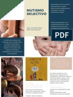 Trípticos Examen Final Psicopatología