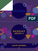 Sociology Presention