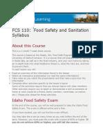 fcs 110 syllabus