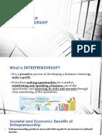 MODULE 1 Overview of Entrepreneurship