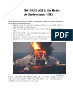 PSC HANDS-FREE :Oil & Gas Health  Safety Environment (HSE)