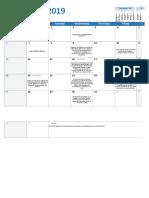 Calendario Institucional