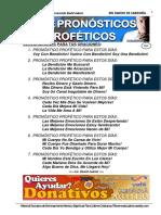 357-19  siete pronosticos profeticos - lic