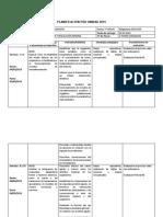 Planificacion 3romedio u1 Biología