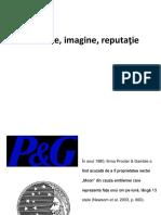Imagine, reputatie- PR