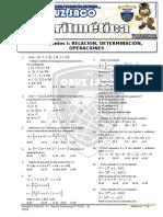 Aritmetica - 2do Año - I Bimestre - 2014