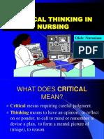 0 Critical Thinking 2o13