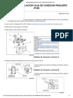 Remocion_instalacion Caja de Conexion Pasajero (Pjb)