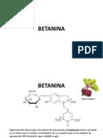 Betanina CA 2019