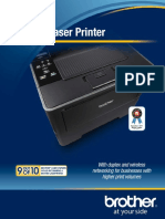 HL6180DW Brochure Business Laser Printer
