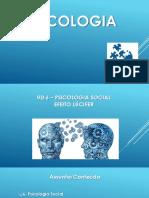 UD 6 - Psicologia Social - A. Percepção de Pessoa e Formação de Impressão