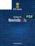 Stretagy for New India @75
