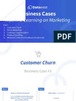 Business Cases - Machine Learning on Marketing