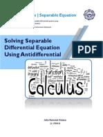 Basic CalculusReport