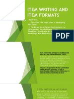 Item Writing and Item Formats-1