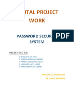 Password Security Systems