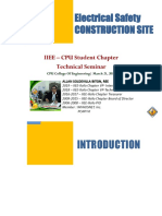 Electrical Safety - Construction (CPU 05.21.19)