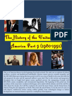 The History of the United States of America Part 9 (1980-1991)