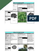 Ficha d e Vegetación