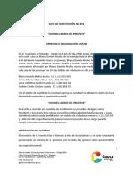 Acta Constitucion Asociacion Miranda