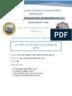 Ley 28090. Ley Que Regula Plan de Cierre de Minas. 1