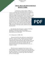 Fc Sem 2 the Universal Declaration of Human
