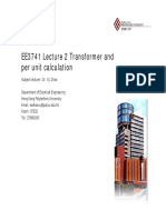 EE3741_L2_Transformer and Per Unit