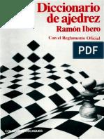 62- Diccionario de Ajedrez— Ramón Ibero