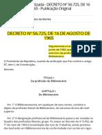 Decreto 7559 de 01/09/2011