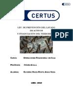 ensayo ley DE LAVADOS DE ACTIVOS11111 .docx