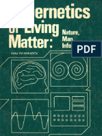Markov Cybernetics of Living Matter Mir 1987