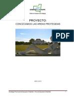 Proyecto Conozcamos Las Areas Protegidas Provinciales