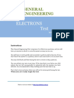 Electrons Solution