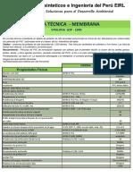Ficha Tecnica Gsp-1000 de a&c Gi Del Peru Eirl