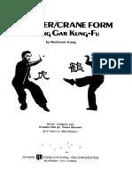 The Tiger Crane Form of Hung Gar Kung-Fu