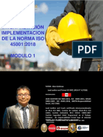 Check List ISO 45001, Ley 29783 y Marco Legal-Capitulo 4, Ver 02