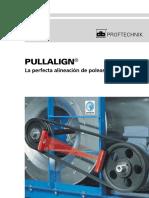 Alineador de Poleas Catálogo Español PRUFTECK