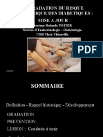 Gradation Du Risque Podologique