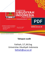 Audit TI 4- Tahapan Audit