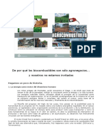 BIOS. Agrocombustibles