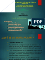 Motivación - Grupo A