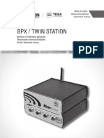 User manual, TESA BPX TWIN-STATION EN DE FR.pdf